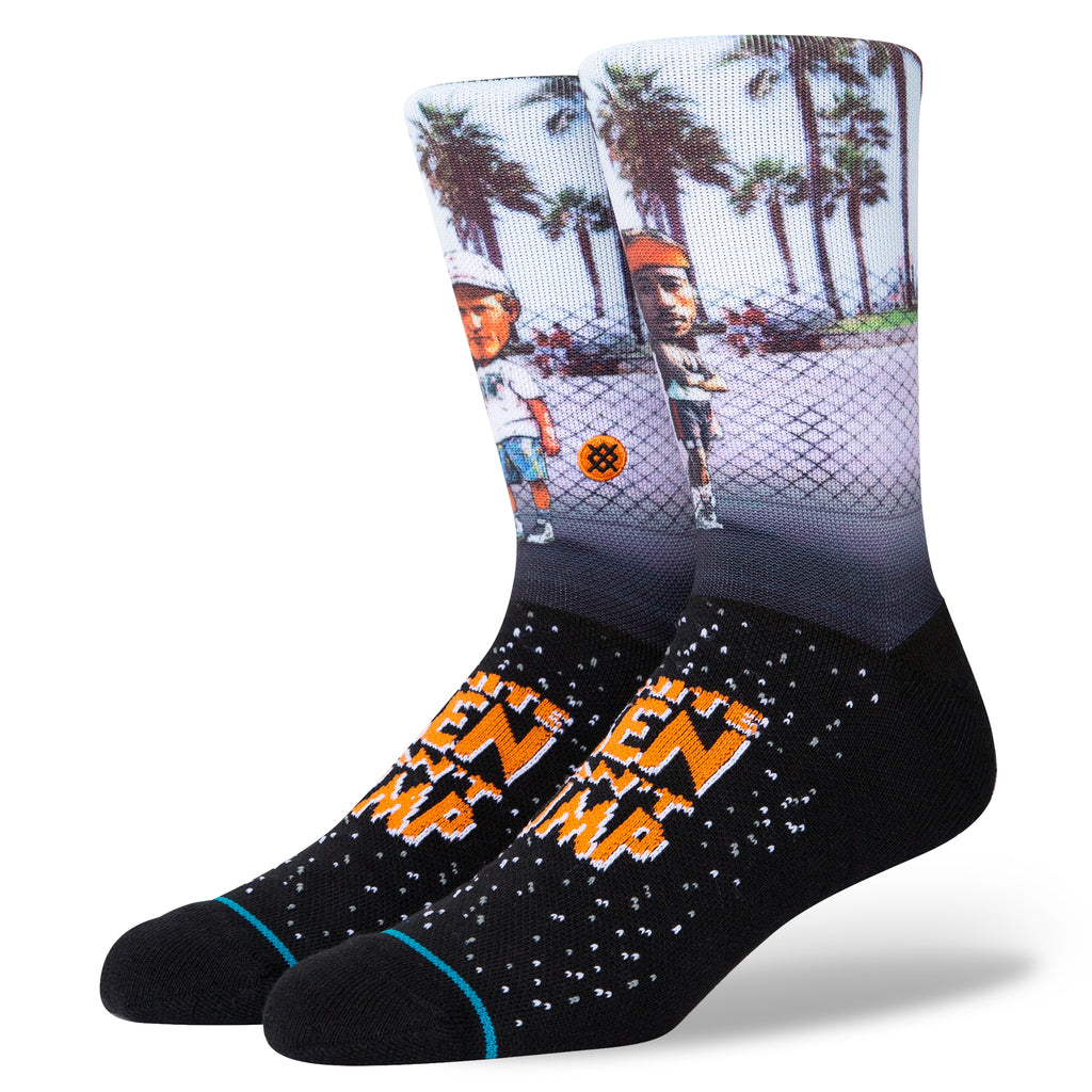 White Men Can't Jump Stance Crew Socks