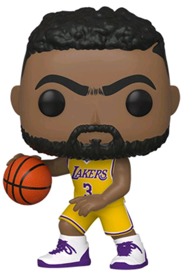 Anthony Davis Los Angeles Lakers Icon Edition NBA Pop Vinyl