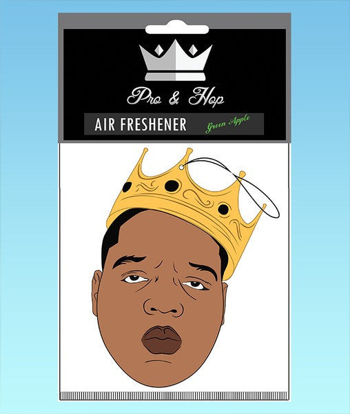 Notorious B.I.G Biggie Crown Air Freshener