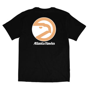 Atlanta Hawks Retro Repeat Logo NBA T-Shirt