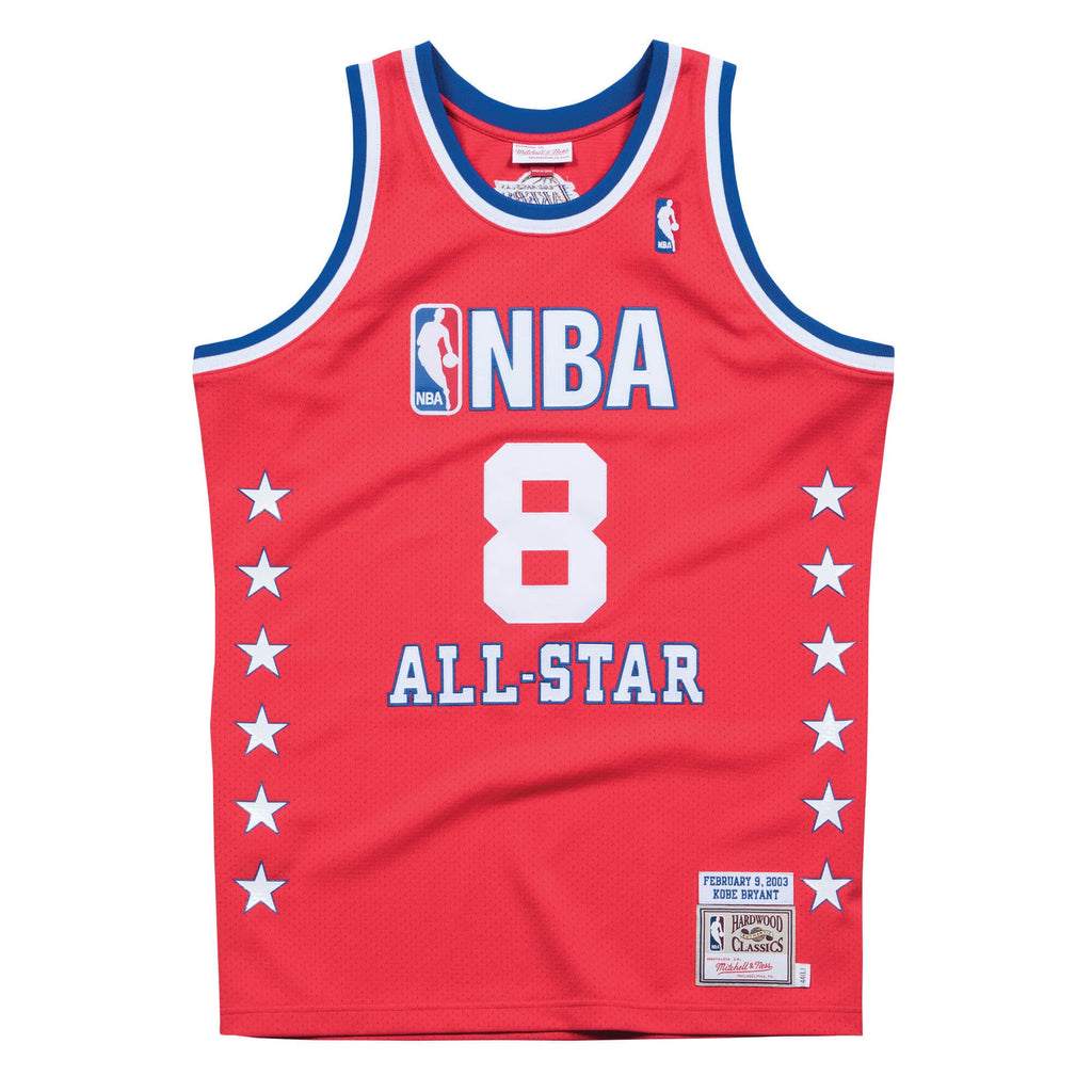 Kobe Bryant 2003 All Star Game Hardwood Classics Throwback NBA Authentic Jersey