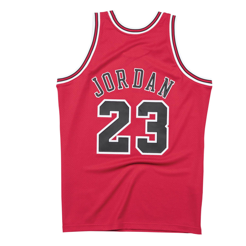 Michael Jordan Chicago Bulls Hardwood Classics Throwback Premium NBA 1997-98 Finals NBA Authentic Jersey