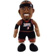 "ALLEN IVERSON PHILADELPHIA 76ERS NBA 10"" PLUSH FIGURE - Basketball Jersey World"