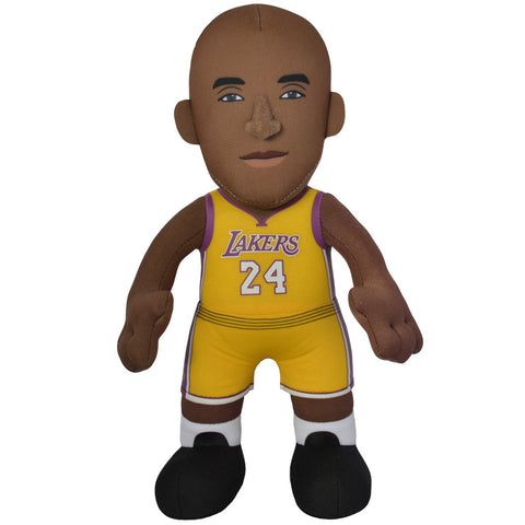 "KOBE BRYANT LOS ANGELES LAKERS #24 NBA BLEACHER CREATURE 10"" YELLOW PLUSH FIGURE"