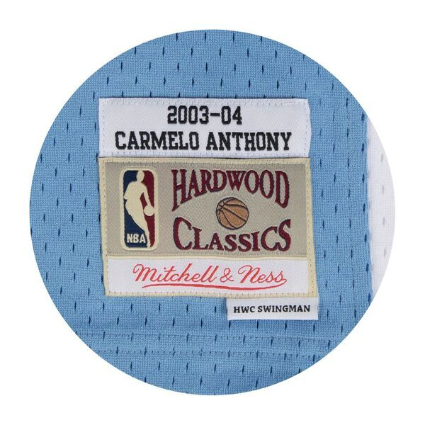 CARMELO ANTHONY DENVER NUGGETS NBA HARDWOOD CLASSICS THROWBACK ROOKIE SWINGMAN JERSEY