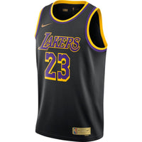 LeBron James Los Angeles Lakers 2021 Earned Edition NBA Swingman Jersey