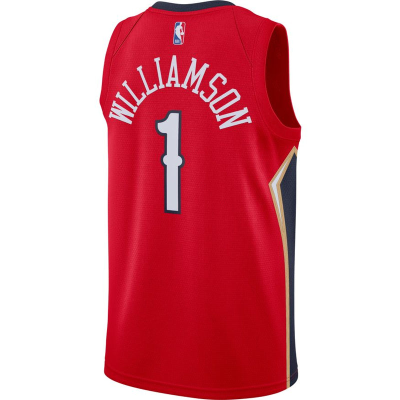 Zion Williamson New Orleans Pelicans 2021 Statement Edition NBA Swingman Jersey