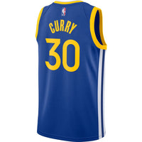 Stephen Curry Golden State Warriors 2021 Icon Edition NBA Swingman Jersey