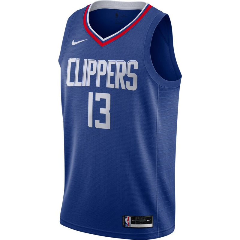 Paul George Los Angeles Clippers 2021 Icon Edition NBA Swingman Jersey
