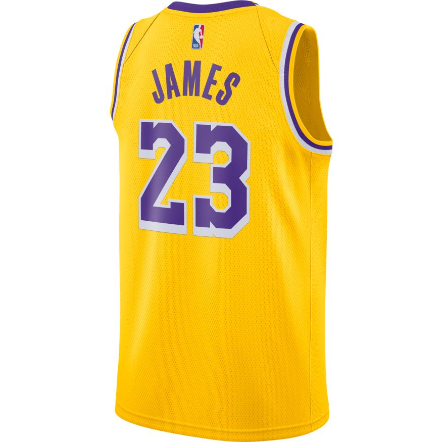 LeBron James Los Angeles Lakers 2021 Icon Edition NBA Swingman Jersey