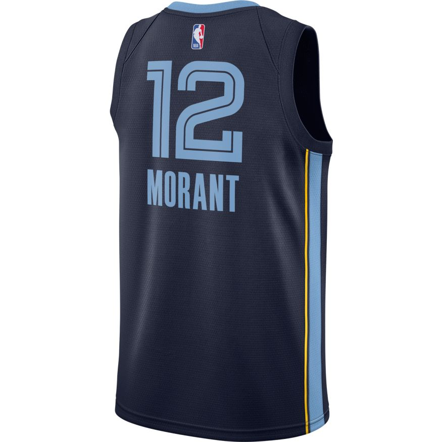 Ja Morant Memphis Grizzlies 2021 Icon Edition NBA Swingman Jersey