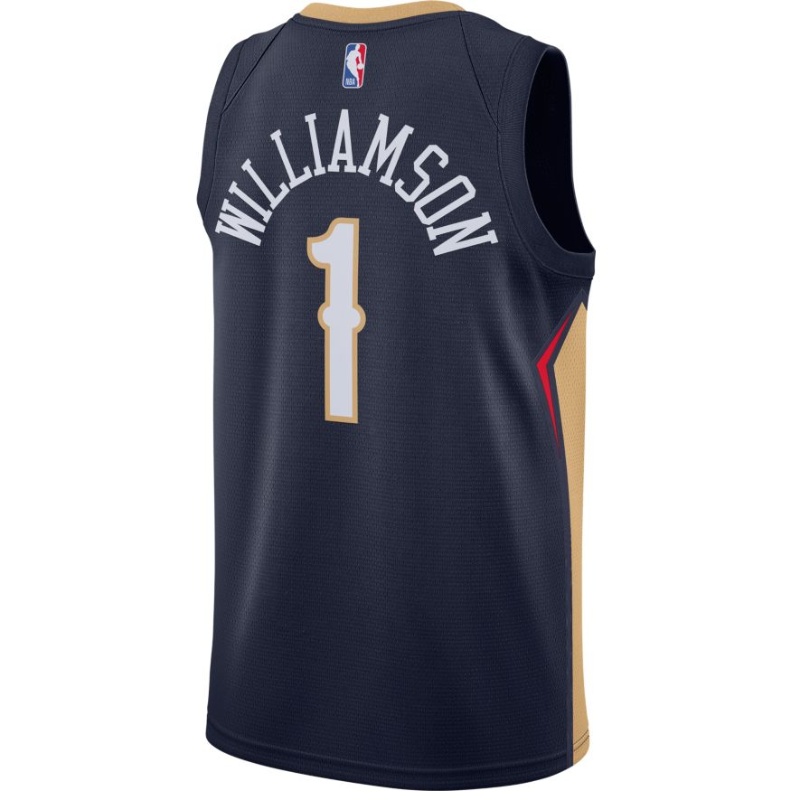 Zion Williamson New Orleans Pelicans 2021 Icon Edition NBA Swingman Jersey