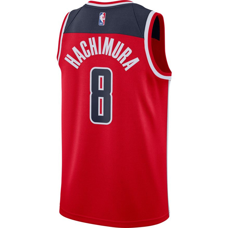Rui Hachimura Washington Wizards 2021 Icon Edition NBA Swingman Jersey