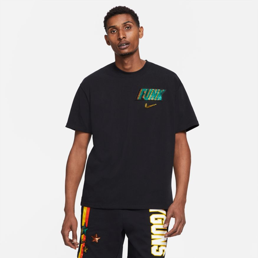 Roswell Rayguns Funk Elevated Basketball T-Shirt