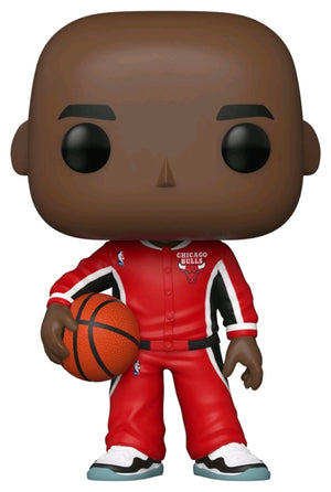 Michael Jordan Chicago Bulls Warm-Ups Hardwood Classics Throwback NBA Legends Pop Vinyl