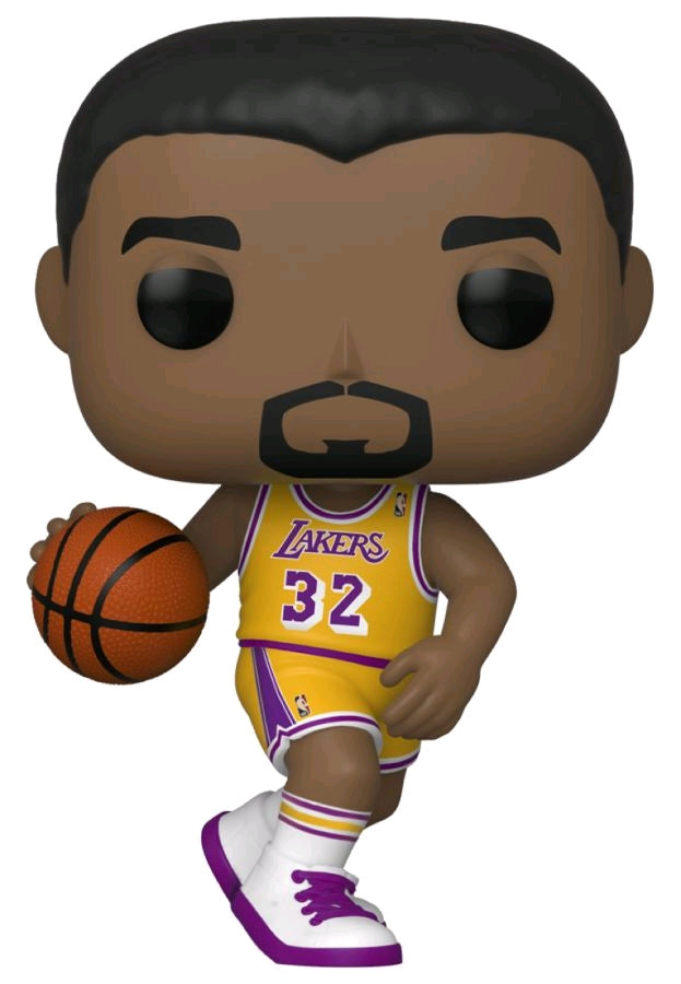 Magic Johnson Los Angeles Lakers Hardwood Classics Throwback NBA Pop Vinyl
