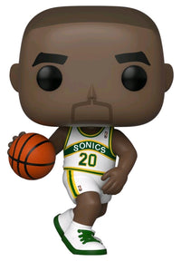 Gary Payton Seattle Supersonics Hardwood Classics Throwback NBA Pop Vinyl