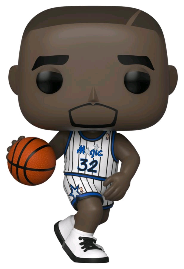 Shaquille O'Neal Orlando Magic Hardwood Classics Throwback NBA Legends Pop Vinyl