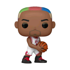 Dennis Rodman Chicago Bulls Hardwood Classics Throwback NBA Legends Pop Vinyl
