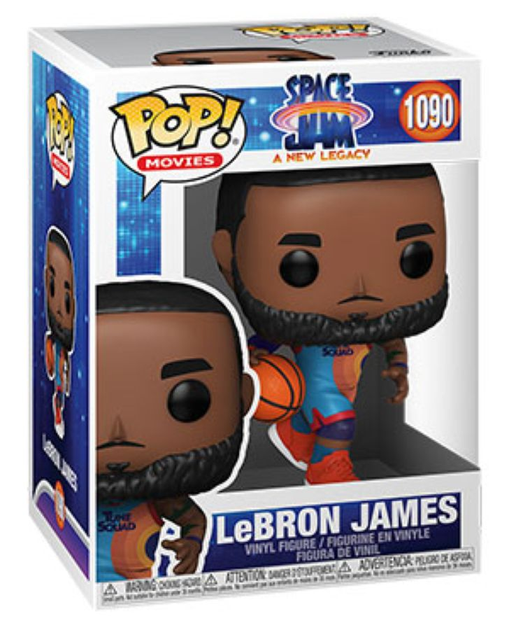 LeBron James Space Jam 2: A New Legacy Pop Vinyl