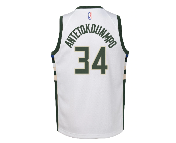 los angeles 127cc d02d1 Giannis Antetokounmpo Milwaukee Bucks Association Edition ...