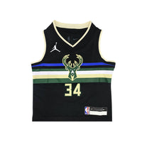 Giannis Antetokounmpo Milwaukee Bucks 2021 Statement Edition Toddler NBA Jersey