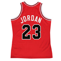 Michael Jordan Chicago Bulls Hardwood Classics Throwback Premium NBA NBA Authentic Rookie Jersey