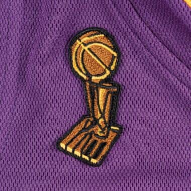 Kobe Bryant Hardwood Classics Throwback Los Angeles Lakers 2008-09 Finals NBA Authentic Jersey