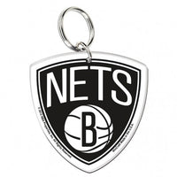 Brooklyn Nets Premium Acrylic Team Logo NBA Keyring