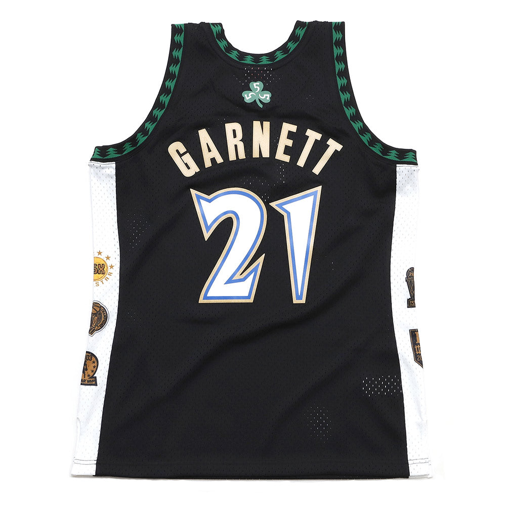Kevin Garnett Minnesota Timberwolves Hardwood Classics Throwback Hall of Fame NBA Swingman Jersey