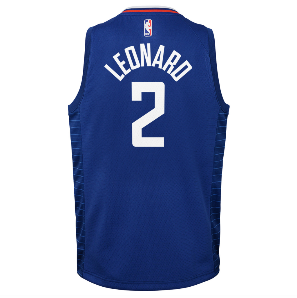 Kawhi Leonard Los Angeles Clippers 2021 Icon Edition Youth NBA Swingman Jersey