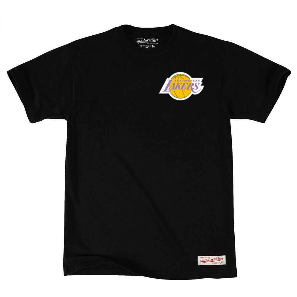 Los Angeles Lakers Retro Repeat Logo NBA T-Shirt