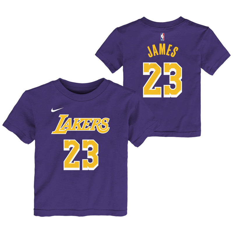 LeBron James Los Angeles Lakers Statement Edition Toddler NBA T-Shirt