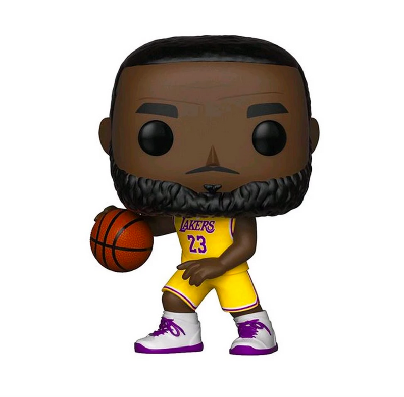 LeBron James Los Angeles Lakers Icon Edition NBA Pop Vinyl