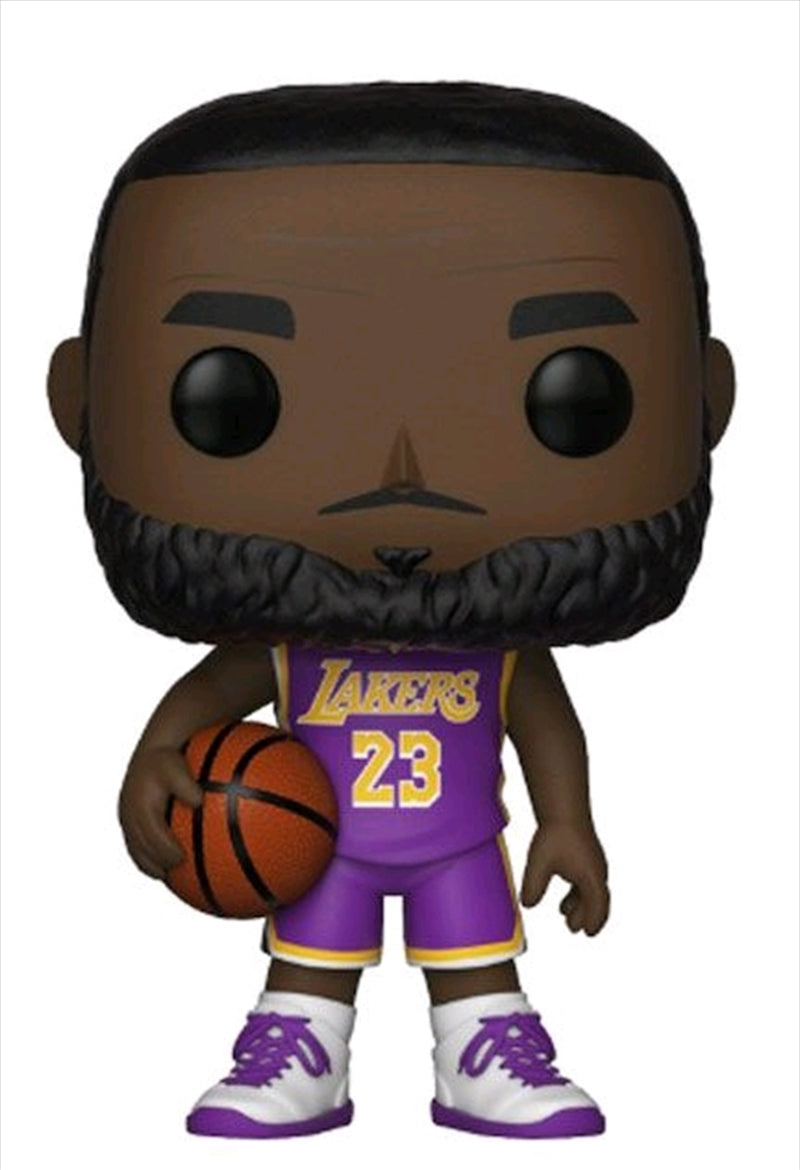 LeBron James Los Angeles Lakers Statement Edition NBA Pop Vinyl