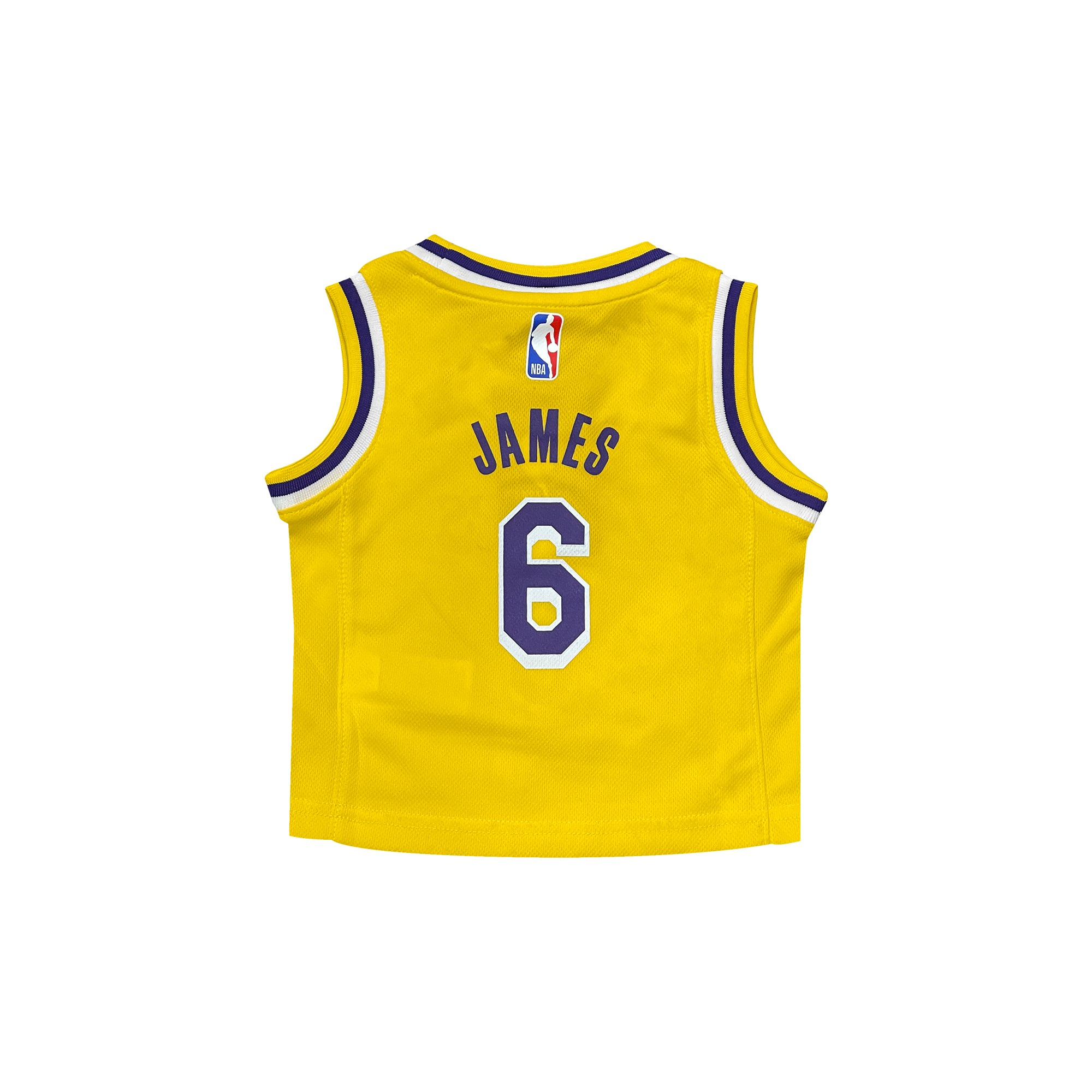 LeBron James Los Angeles Lakers 2021 Icon Edition Infant NBA Jersey
