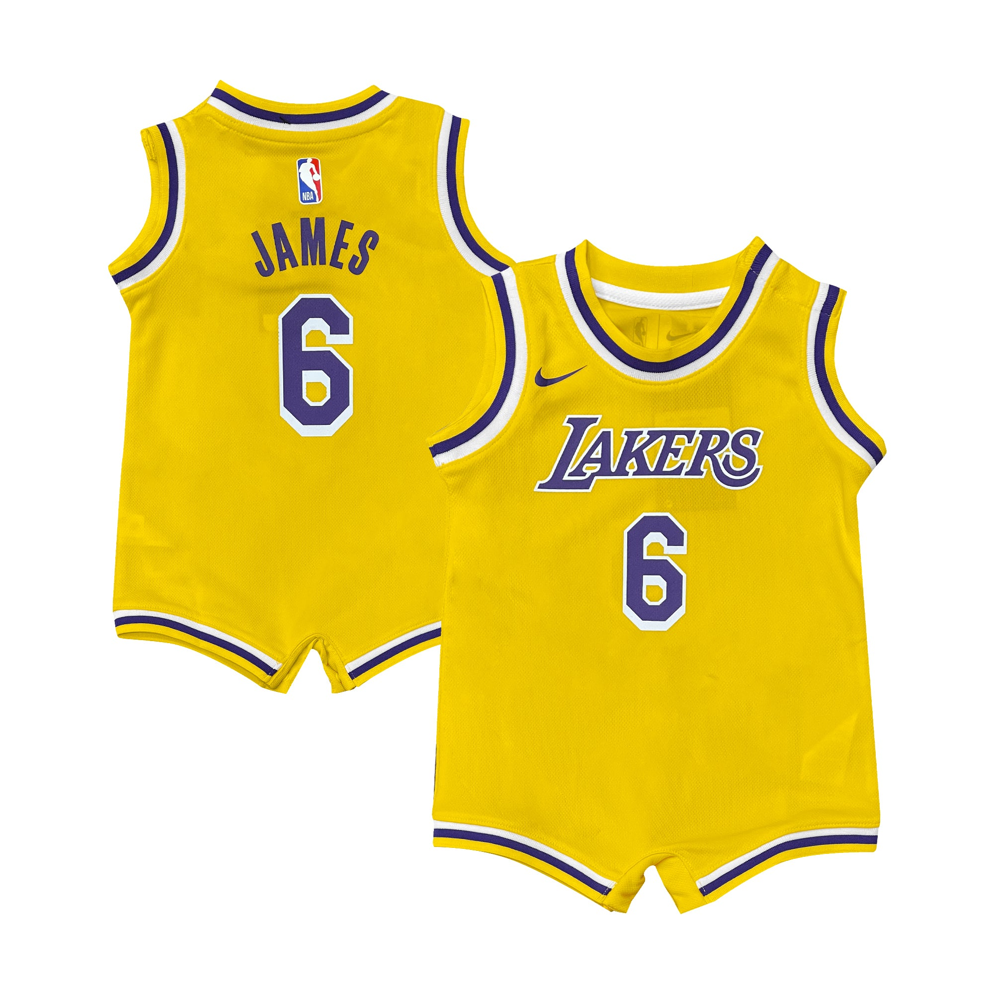 LeBron James Los Angeles Lakers 2021 Icon Edition Infant NBA Jersey On