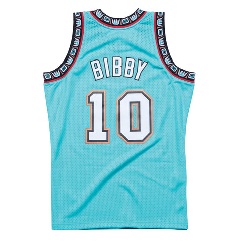 MIKE BIBBY VANCOUVER GRIZZLIES NBA HARDWOOD CLASSICS THROWBACK SWINGMAN JERSEY