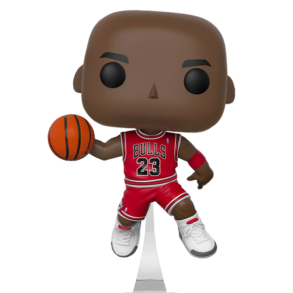 Michael Jordan Chicago Bulls Slam Dunk Champion NBA Pop Vinyl