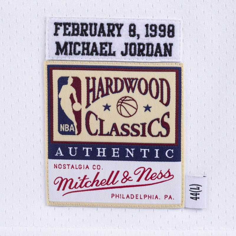 Michael Jordan 1998 All Star Game Hardwood Classics Throwback NBA Authentic Jersey