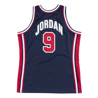 Michael Jordan 1992 Olympics Dream Team USA Hardwood Classics Throwback Authentic Jersey