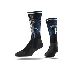 Zion Williamson New Orlean Pelicans Galaxy Premium Full Sub Socks