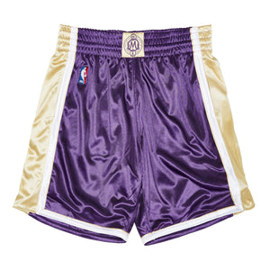 Kobe Bryant Los Angeles Lakers Hardwood Classics Throwback Authentic Hall of Fame NBA Shorts