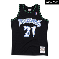 Kevin Garnett Minnesota Timberwolves Hardwood Classics Throwback NBA Swingman Jersey