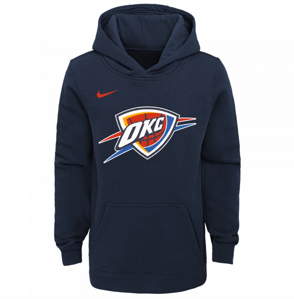 Oklahoma City Thunder Essential Logo Youth NBA Hoodie