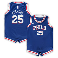 BEN SIMMONS PHILADELPHIA 76ERS NBA ICON INFANT ONESIE JERSEY - Basketball Jersey World