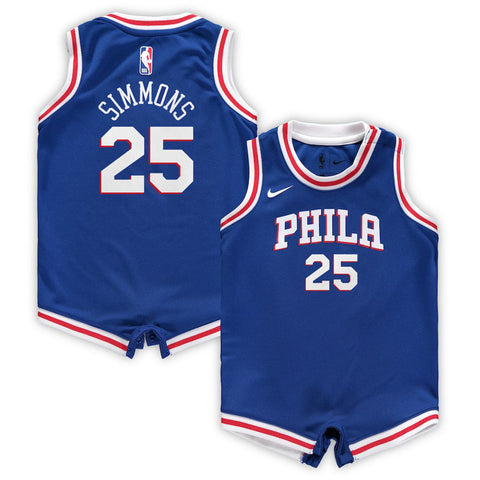BEN SIMMONS PHILADELPHIA 76ERS NBA NIKE ICON INFANT ONESIE JERSEY 565311cf6