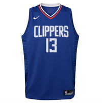 Paul George Los Angeles Clippers 2021 Icon Edition Youth NBA Swingman Jersey