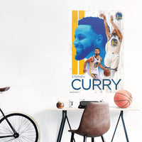 Stephen Curry Golden State Warriors NBA Wall Poster