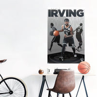 Kyrie Irving Brooklyn Nets NBA Wall Poster